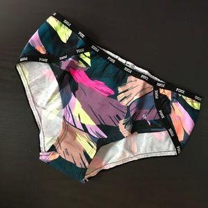 New Victoria's Secret PINK Mini Logo Hipster Panty